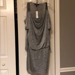 Silver Shimmer Party Dress